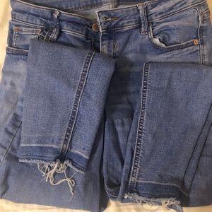 Old Navy Jeans - Blue Wash Rockstar Skinny Old Navy Jeans